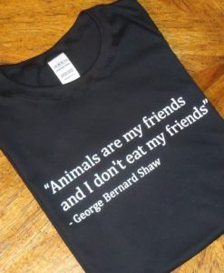 Animals are my Friends T-shirt - Black