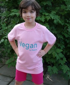 Youth Small - Vegan is Peace