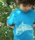 Dolphin Word Cloud T-shirt – Kids