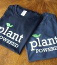 Black & Charcoal Plant Powered T-shirt