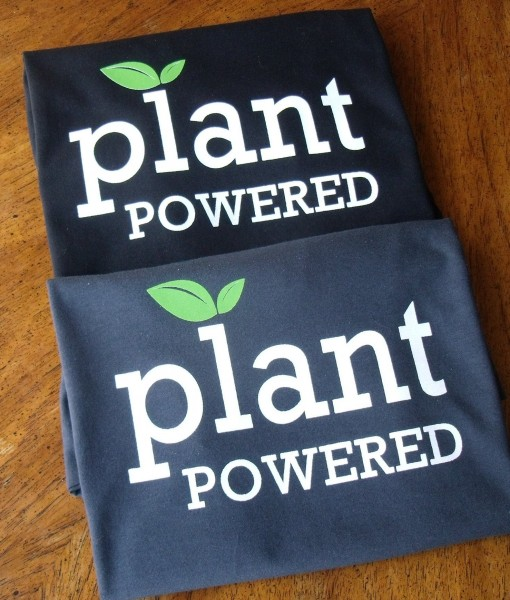 Plant Powered Black & Charcoal Folded