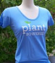 Plant Powered Bamboo Shirt in Ocean Blue