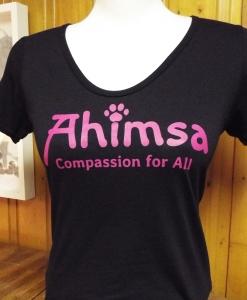 Ahimsa Paw in Pink