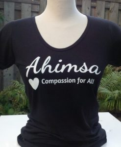 Ahimsa - Compassion for All - Scoop Neck