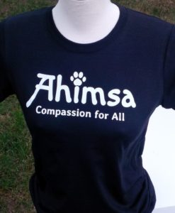 Ahimsa Paw T-shirt