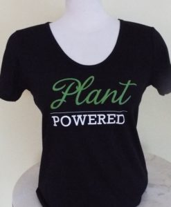 Deep Scoop, Plant Powered, Bamboo & Organic cotton T-shirt